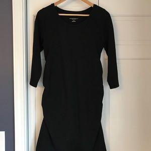Liz Lange Maternity little black dress